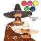 SOMBRERO MEXICANO PAJA 60 CMS. SURTIDO