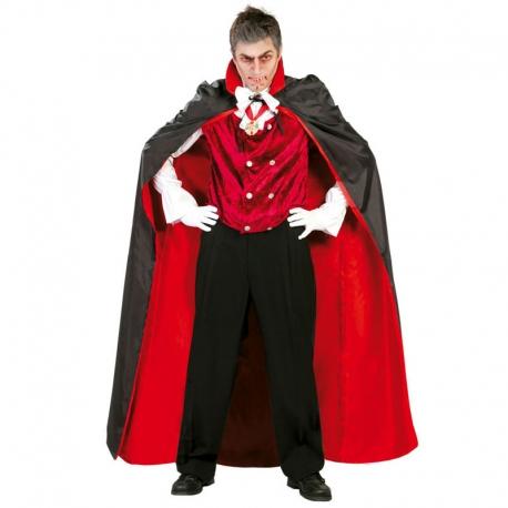 CAPA vampiro roja/negra 143cm