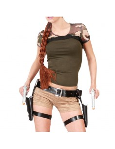 PISTOLERA DOBLE LARA CROFT