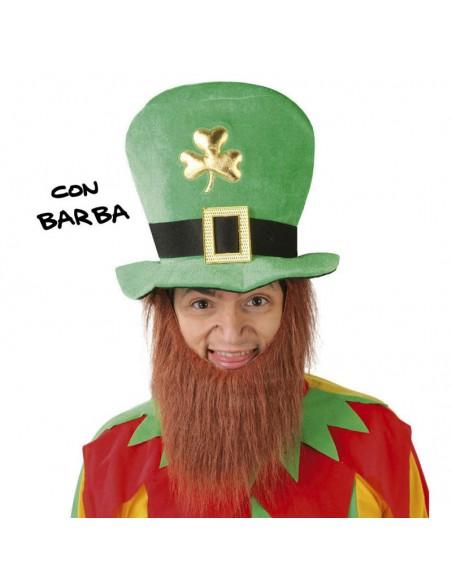 GORRO SAN PATRICIO CON BARBA