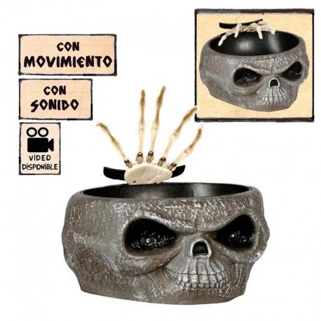 OLLA CON SUSTO 27X26 CMS. CON LUY Y SONIDO