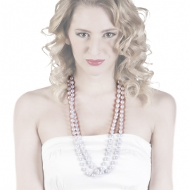 2 COLLARES MAGALI BLANCO
