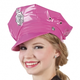GORRA POLICE ROSA (ADJUSTABLE)