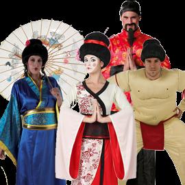 CHINOS Y JAPONESES